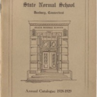 State Normal School, Danbury, Connecticut, Annual Catalogue 1928-1929