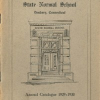 State Normal School, Danbury, Connecticut, Annual Catalogue 1929-1930